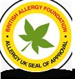 영국 알레르기 협회 BAF 인증 이미지